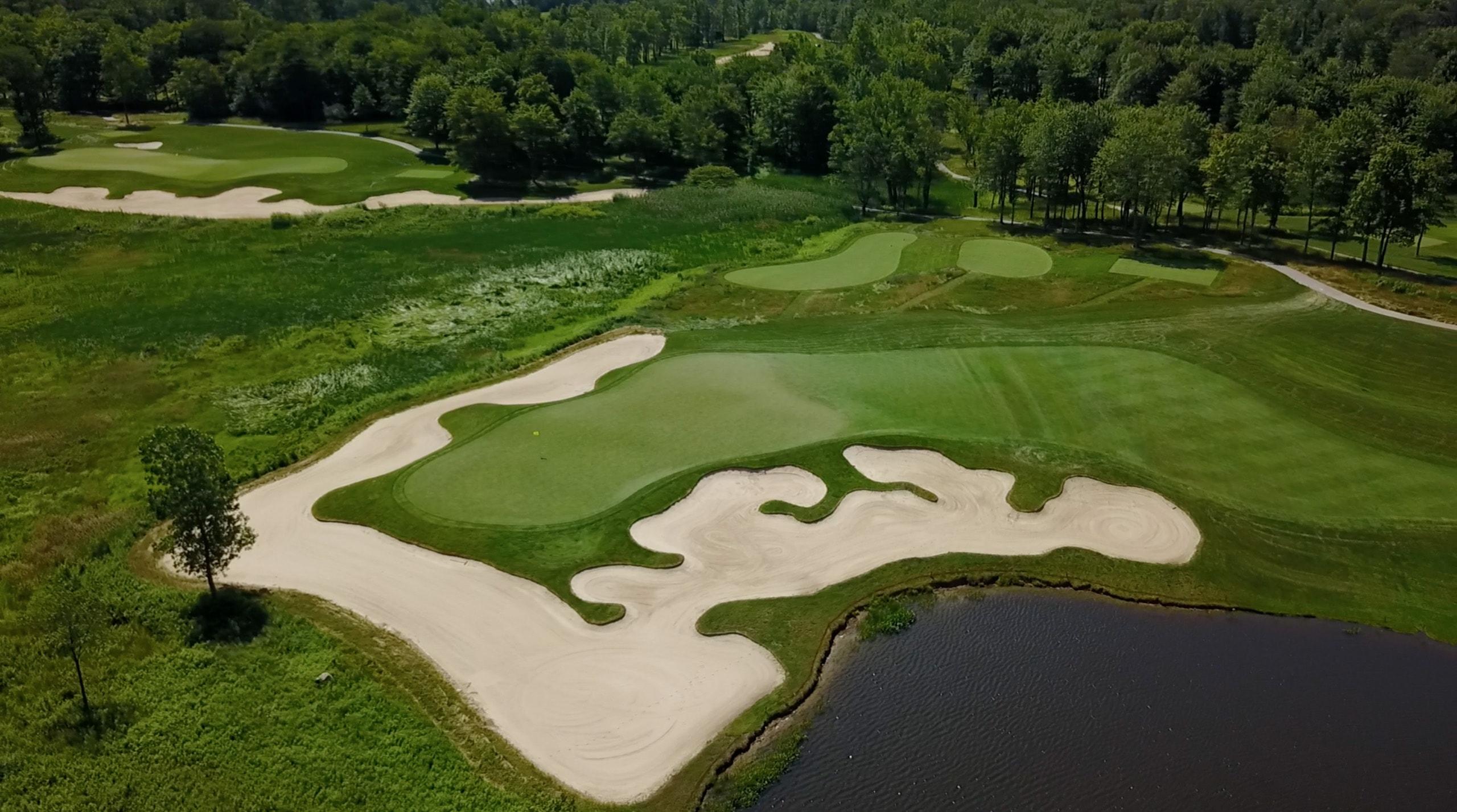 Sand Ridge Golf Club in Chardon, Ohio