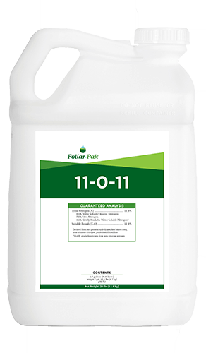 foliar-pak 11-0-11 product
