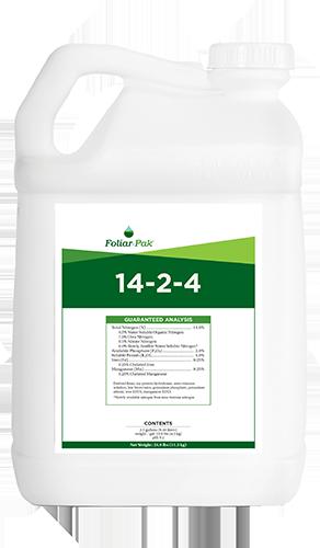 foliar-pak 14-2-4 product