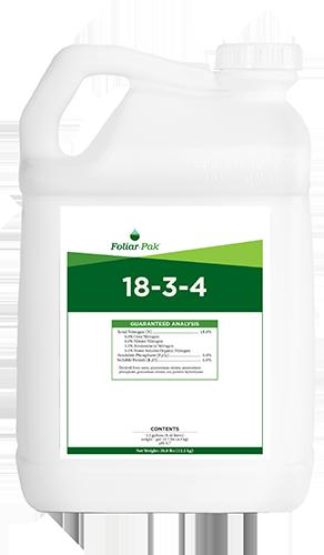foliar-pak 18-3-4 product