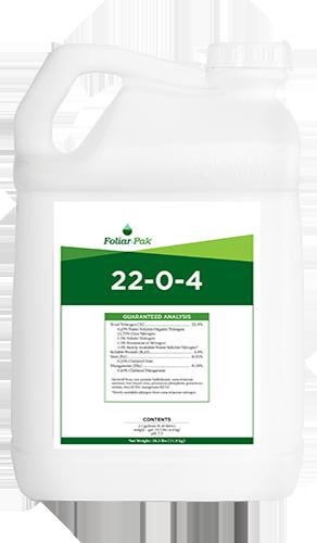 foliar-pak 22-0-4 product
