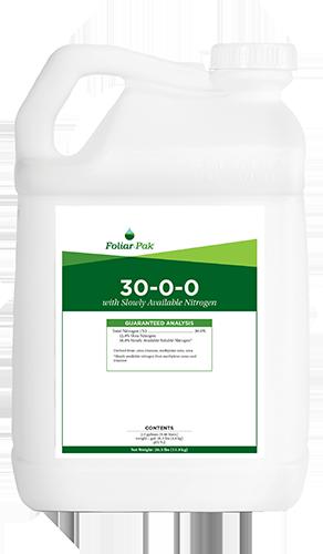 foliar-pak 30-0-0 product