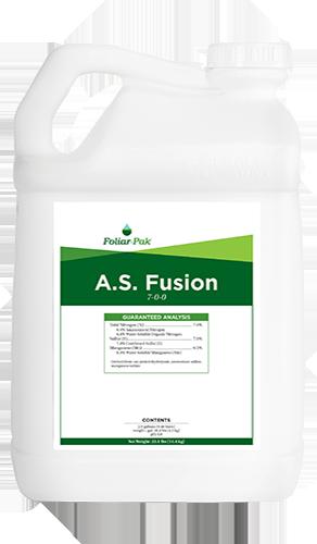 foliar-pak a.s. fusion product