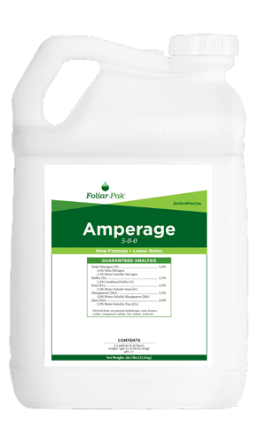 foliar-pak amperage product