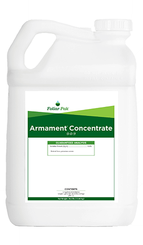 foliar-pak armament concentrate product