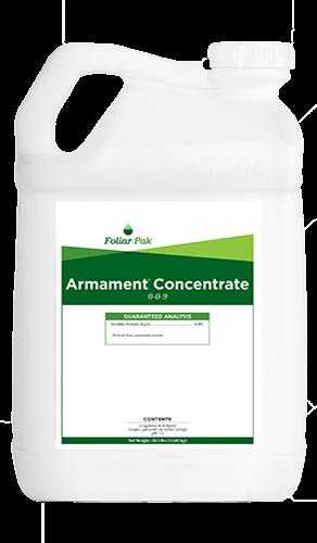 foliar-pak armament concentrate product