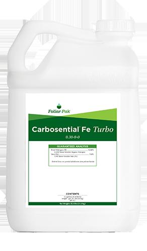 foliar-pak carbosential fe turbo