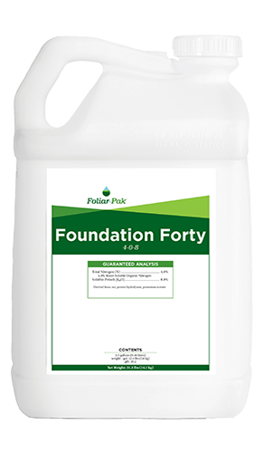 foliar-pak foundation forty product