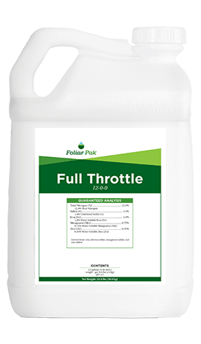 foliar-pak full throttle product