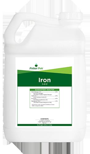 foliar-pak iron product