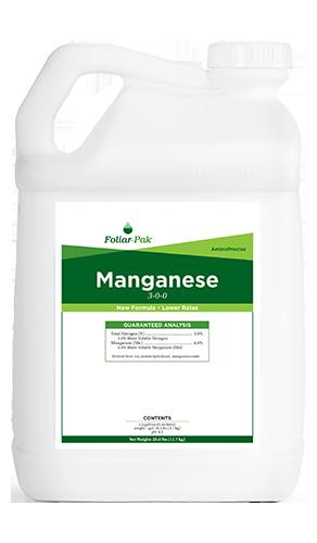 foliar-pak manganese product