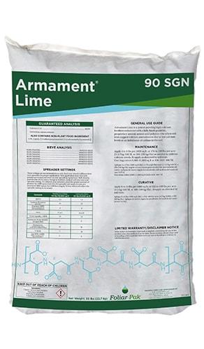 Foliar-Pak Armament Lime 90 SGN