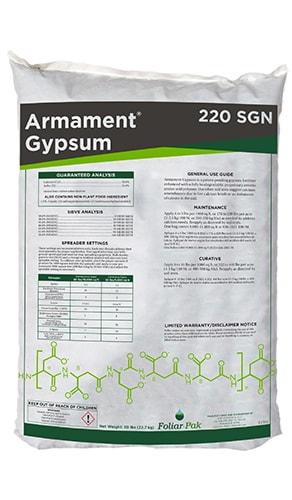 foliar-pak armament gypsum 220