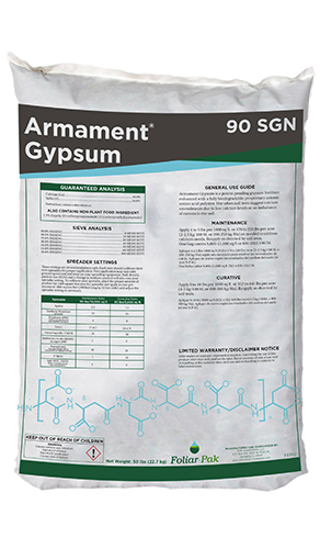 foliar-pak armament gypsum 90