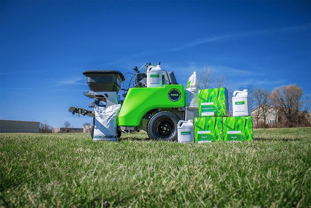 steel green manufacturing equipment using foliar-pak fertilizer