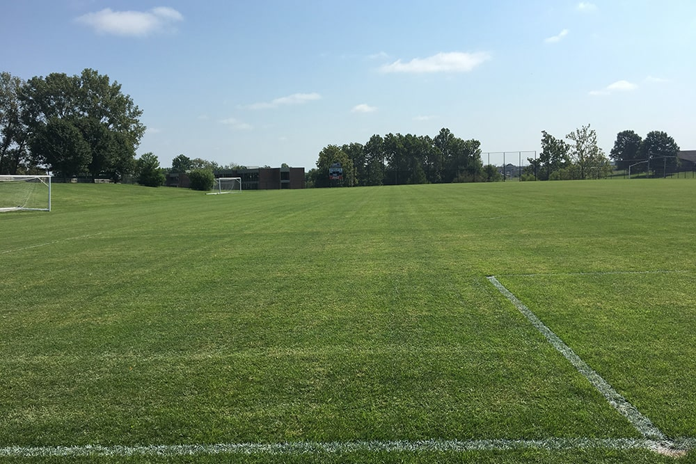 casey martin soccer field treated with foliar-pak products