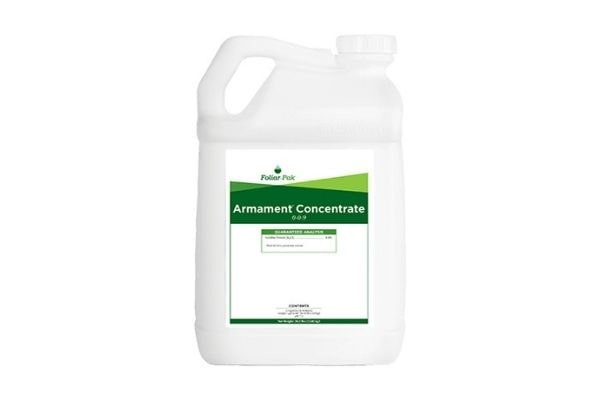 bottle of armament concentrate