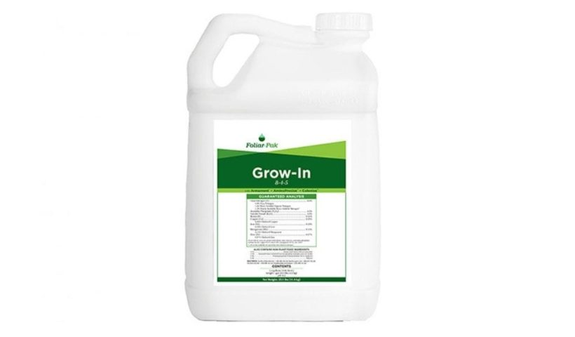 bottle of grow-in